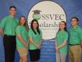 SSVEC Scholarship Benson High School Jason Kilpatrick, Julia Little, Isella Olivarez, Kaileigh Thompson, Kyler Curtis (2)