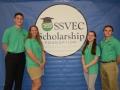 SSVEC Scholarship Benson High School Jason Kilpatrick, Julia Little, Kaileigh thompson, Kyler Curtis